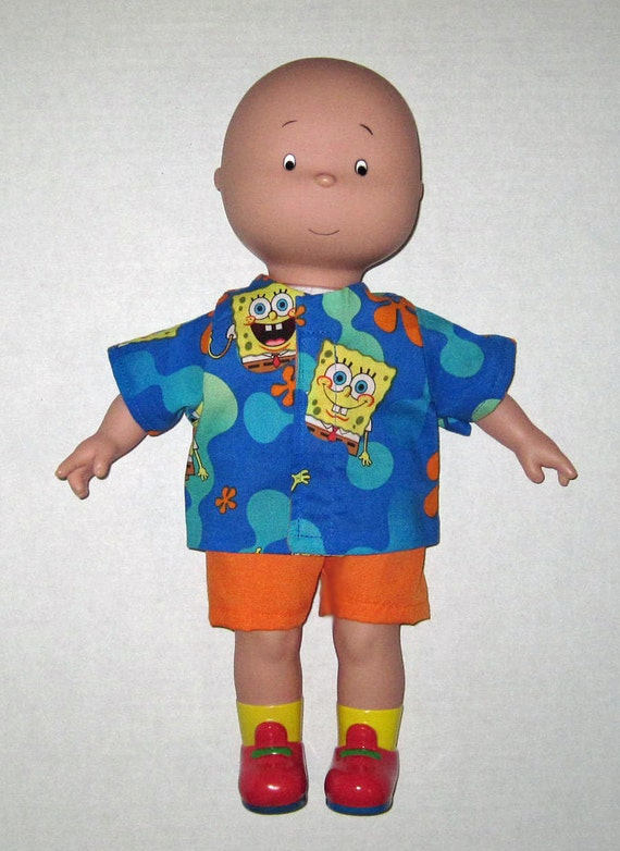 Caillou Classic 14.5 inch Doll Clothes Cute by Dakocreations
