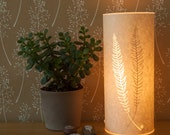 Small Woodland Fern Table Lamp