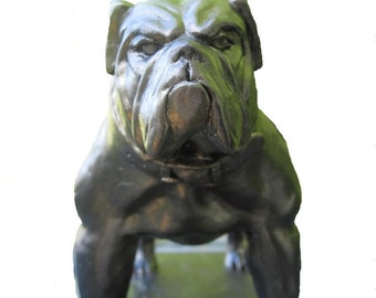 Godfather --- Bulldog Mascot Figurine
