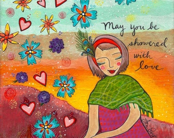 Print : Showered With Love #45-P