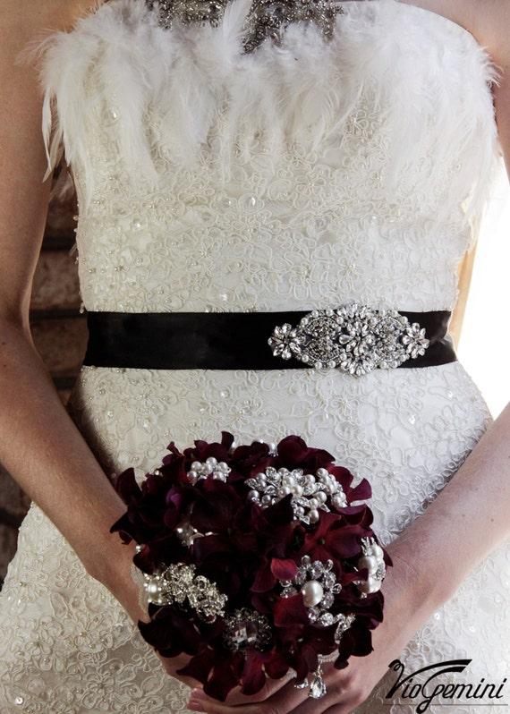 Wedding Sash Belt, Bridal Belt, Sash Belt, Wedding Dress Sash, Crystal Rhinestone Belt