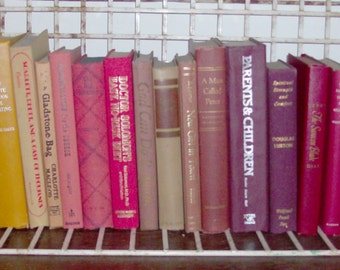 Instant Collection of 17 Autumn Splendor Vintage and Antique Books