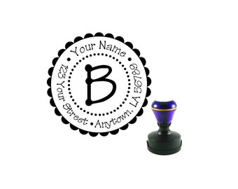 Personalized Self Inking Address Stamp - Return address stamp R91