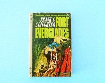 Mid Century Pulp Fiction Novel / 1960s Pulp Fiction Paperback / Collectible Book / Frank G. Slaughter
