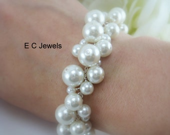 Pearl Love Bobbles Bracelet