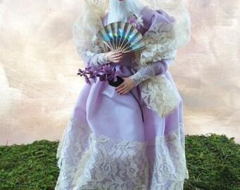 Lady Violet - Art Doll