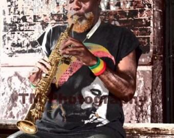 Street Musician - Musician - Music - Fine Art Photography - Bob Marley