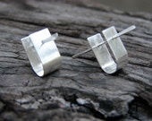 Little Silver Cuff & Stick Earrings