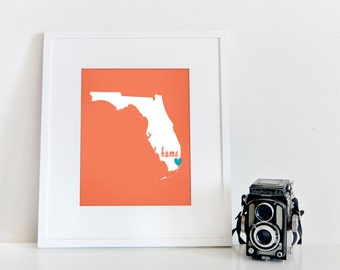Miami is My Home // 8x10 Digital Florida Print