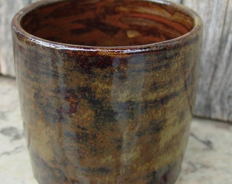 A Cup, or Bowl - glazed in Saturated Iron