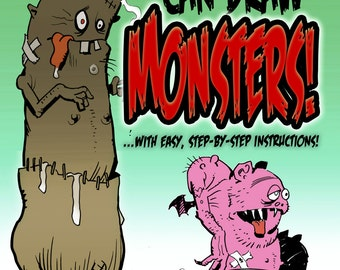 Mike Hoffman Instructional Book Download YOU Can DRAW MONSTERS