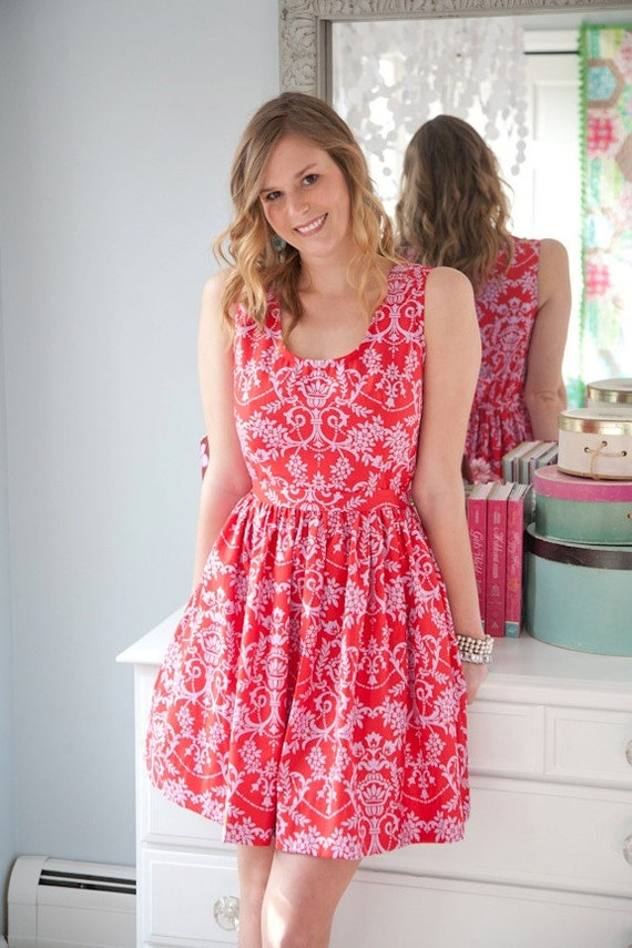 Sis Boom Angie Dress, Easy Womens Dress Pattern PDF E-Book - with Scientific Seamstress
