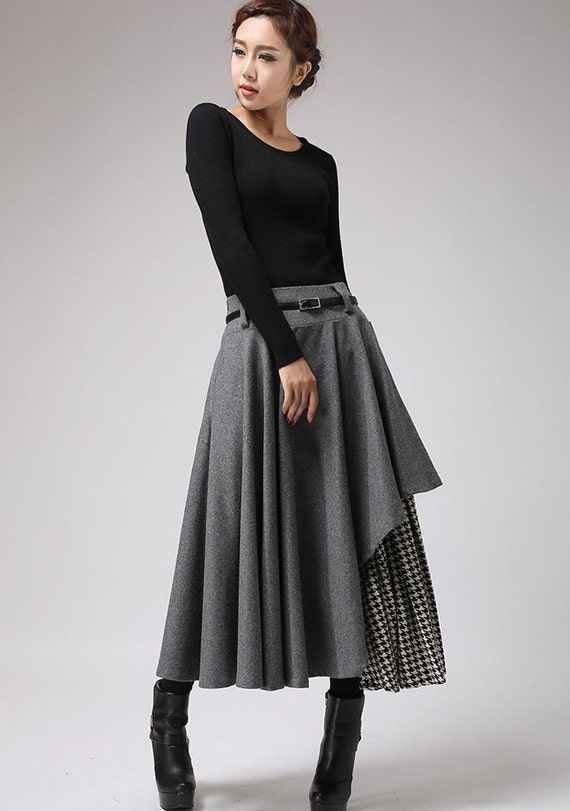 Winter Wool Skirt 111