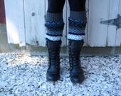 Upcycled Boot Socks Leg Warmers
