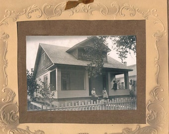 Vintage Photograph EARLY COLORADO HOME, 1910s