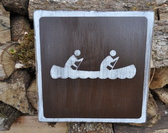 Canoeing Sign