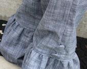 Sassy Chambray Ruffle Pants Size 9 months to 4T