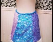 Butterflies  Flowers  Swirls & Ruffles Summer Skirt Flower Child Hippie Tie Dye