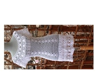 SALE: White Lace Beach Dress Prefect Cover Up Made from cotton Size S ready to ship