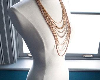 LEBLON... cascading necklace
