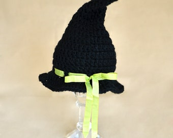 Baby Halloween Costume, Newborn Halloween Costume, Baby Witch Hat, Newborn Witch Hat, Infant Halloween Costume, Baby Witch Costume