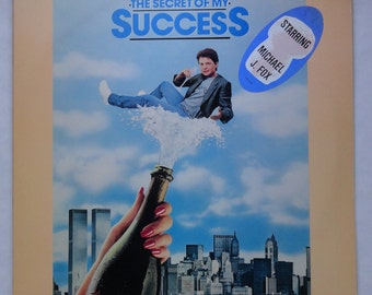 "Rare ""Secret of My Success"" Vinyl Soundtrack (1987) - Very Good Condition"