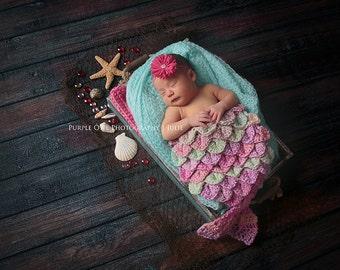 Baby headband, newborn headband, infant headband, photo prop, pink flower headband