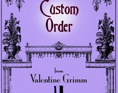 CUSTOM ORDER with Instant Download