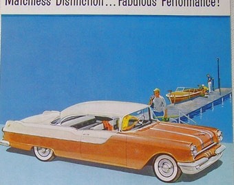 1955 Pontiac 870 Catalina - Magazine Advertisement