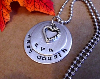 Cousin Necklace, Personalized Jewelry, Hand Stamped Jewelry, Cousin Jewelry