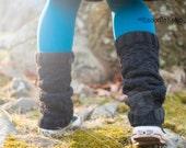 Matching Knit Leg warmers, Handmade Leg Warmers, Boot Toppers, Faux Socks, Winter Boot Accessories