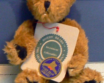 Boyds Bear Plush Percy with Golden Teddy Award