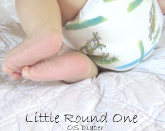 One Size Cloth Diaper , Little Round One