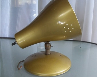 Vintage Wall Mounted Bronze Colored Spot Lamp