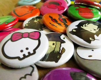 Badges - Mix and match x5 - All brokenbiscuits Designs