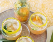 Yellow cocktail rimming sugar - add color and sparkle to mixed drinks