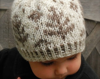 Knitting PATTERN-The Everlynn Hat  (Toddler, Child, Adult sizes)