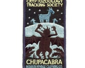 Cryptozoology Tracking Society: CHUPACABRA Patch