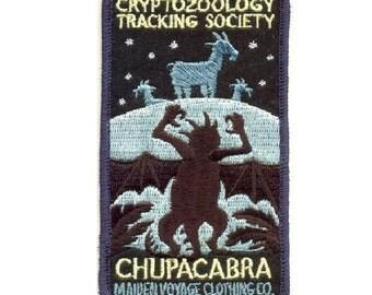 Cryptozoology Tracking Society: CHUPACABRA Patch