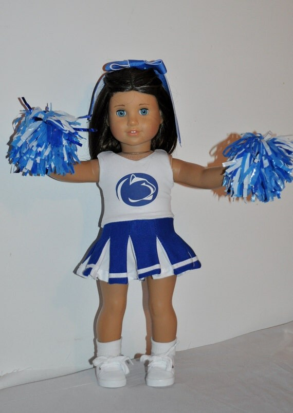 penn state cheerleader outfit that fits american girl dolls