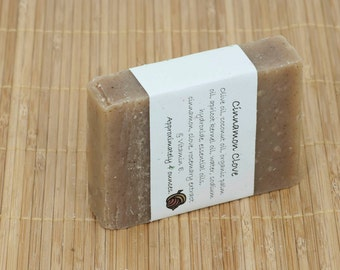 Cinnamon Clove Soap Scented with Essential Oils, 4 Ounces