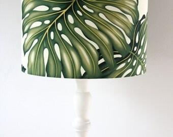 tropical hawaiian standard lamp