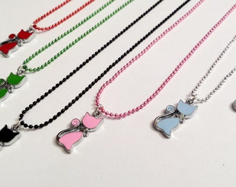 Sale! delicate kitty cat Necklace