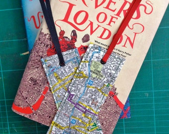 London Map Bookmark