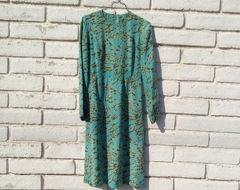 Vintage turquoise dream dress