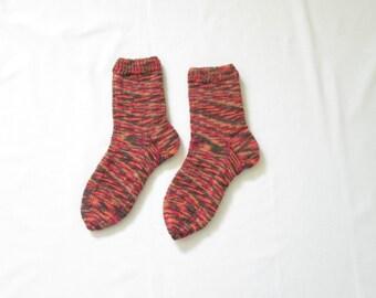 Knit Socks (Size US 7.5-8.5, UK 5-6, Europe 38-39)