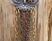 Steampunk Chain Owl