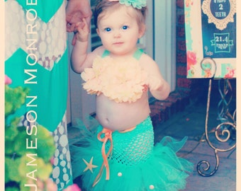 The Mermaid Chic Collection - Birthday, Princess headband, Little Mermaid, dress up, Disneyland, Disney