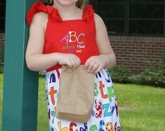 ABC Tie Dress