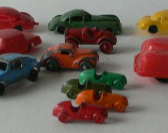 Vintage toy cars small collection  from Diz Has Neat Stuff